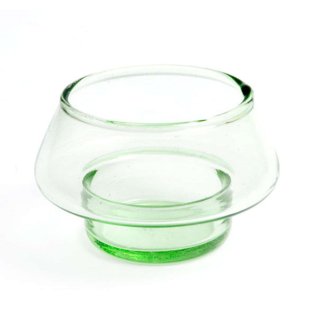 Colored Tealight Holder in Glass 4
