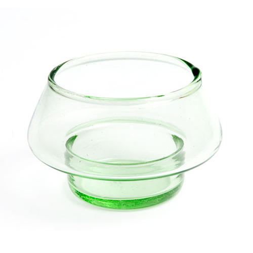 Colored Tealight Holder in Glass 2