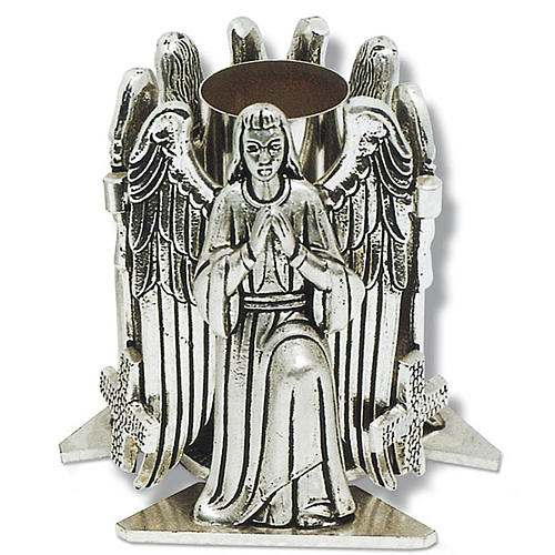 Altar candle holder with praying angel 1
