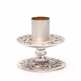 Altar candle holder with olive branches s8