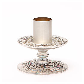 Altar candle holder with olive branches s10