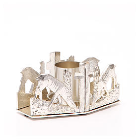 Altar candle holder with deers s3