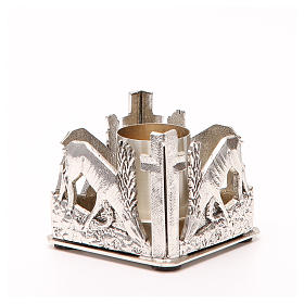 Altar candle holder, deers drinking water s8