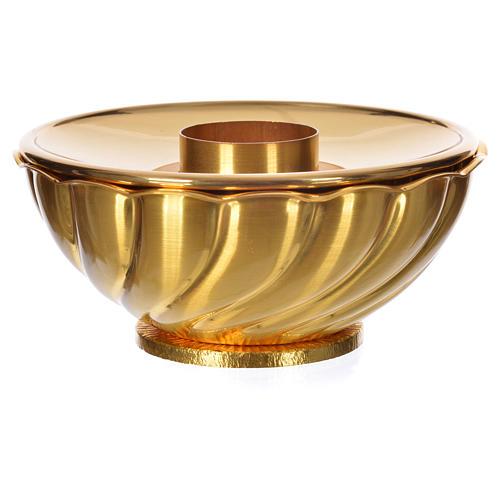 Altar candlestick, brass 2