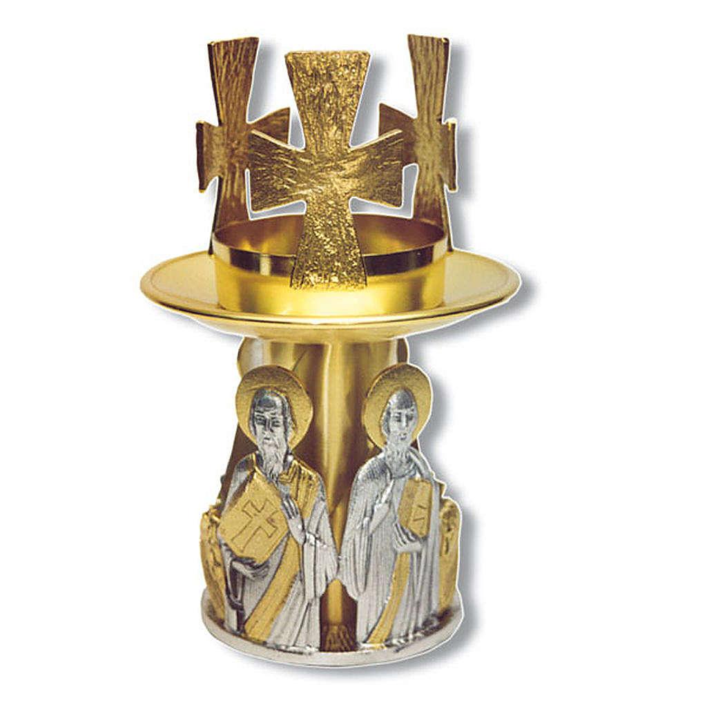Lampada da mensa bronzo dorato 4 evangelisti 4