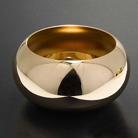 Chandelier d'autel laiton doré lucide s2