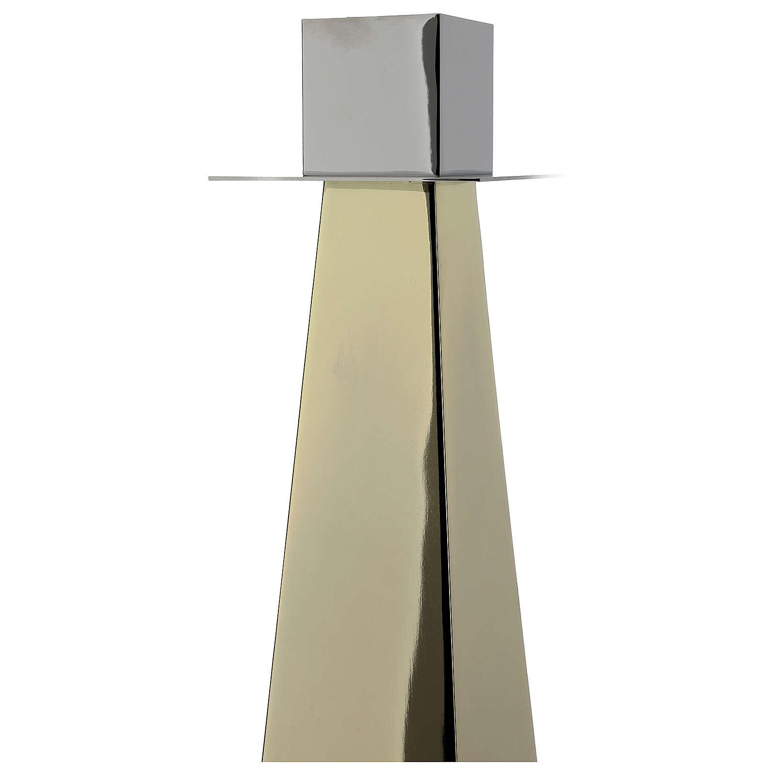 Świecznik eucharystyczny lub ołtarzowy model Vitrum 4