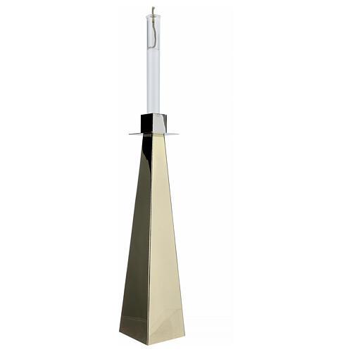 Świecznik eucharystyczny lub ołtarzowy model Vitrum 7