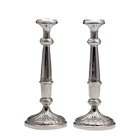 Candelieri coppia argento 800 s1