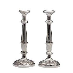 Świeczniki para srebro 800 s1