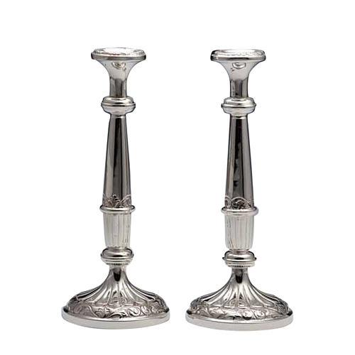 Świeczniki para srebro 800 1