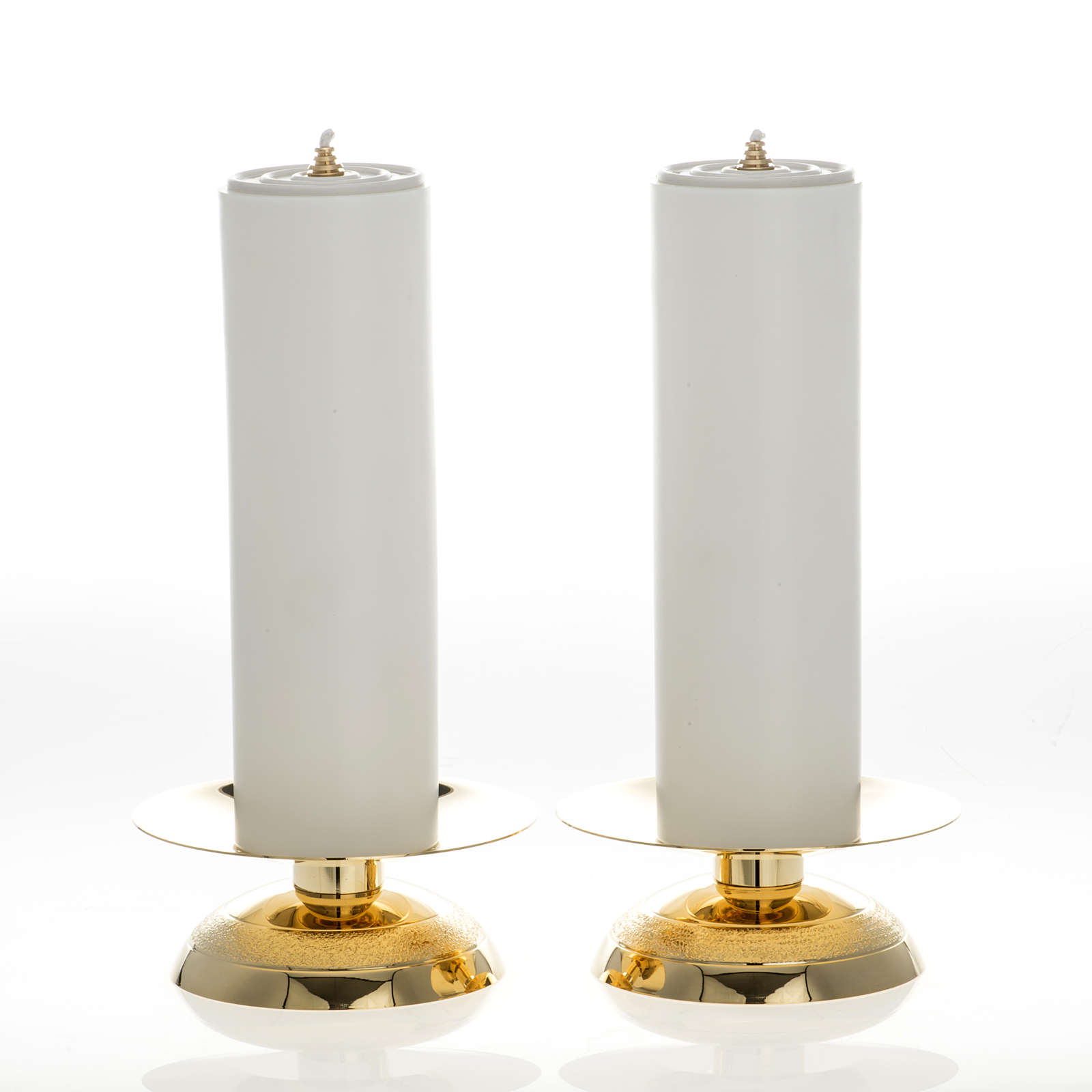 Candles and candle holders, two piece set 4