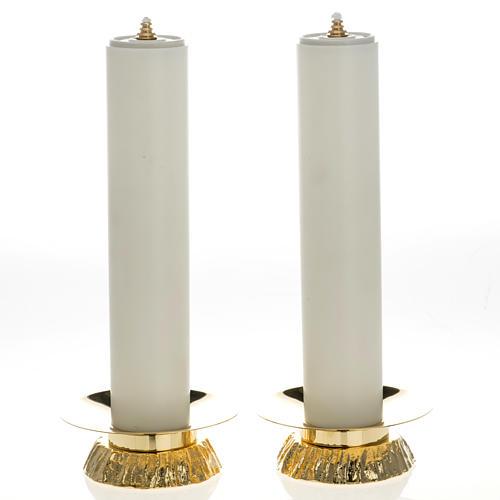 Completo finte candele e candelieri 1