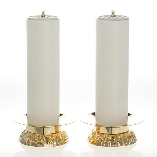 Set 2 bougies pvc et chandeliers 1