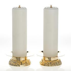 Completo 2 pz finte candele e candelieri s1