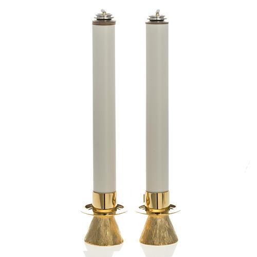 Candelieri conetto e finte candele 1