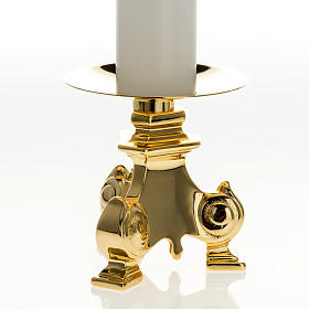 Candelieri ottone e finte candele s3