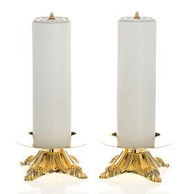 Candelieri con finte candele 2 pezzi s1
