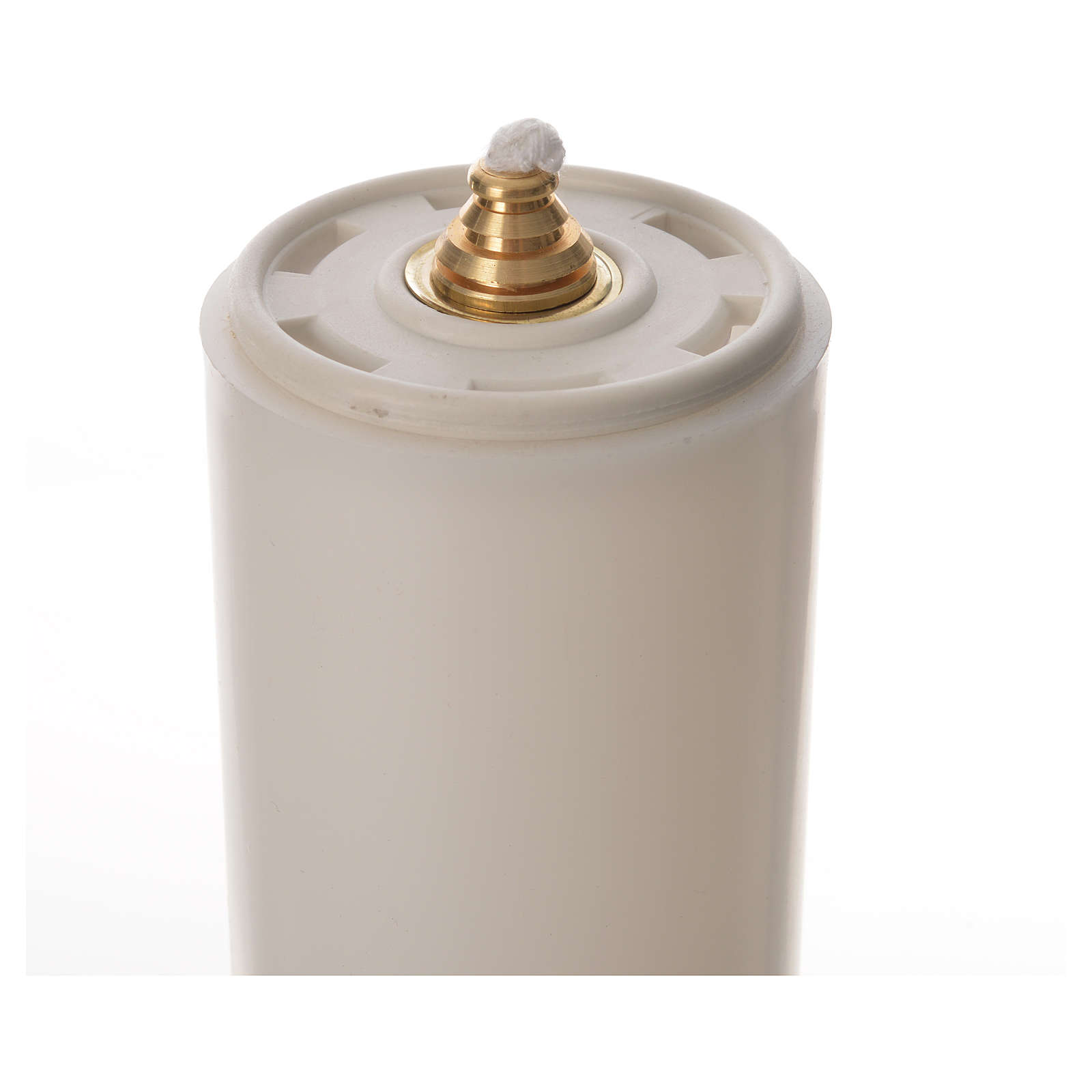 Candelabros dos piezas vela falsa base tipo campana 4