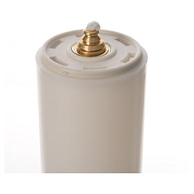 Candelabros dos piezas vela falsa base tipo campana s3