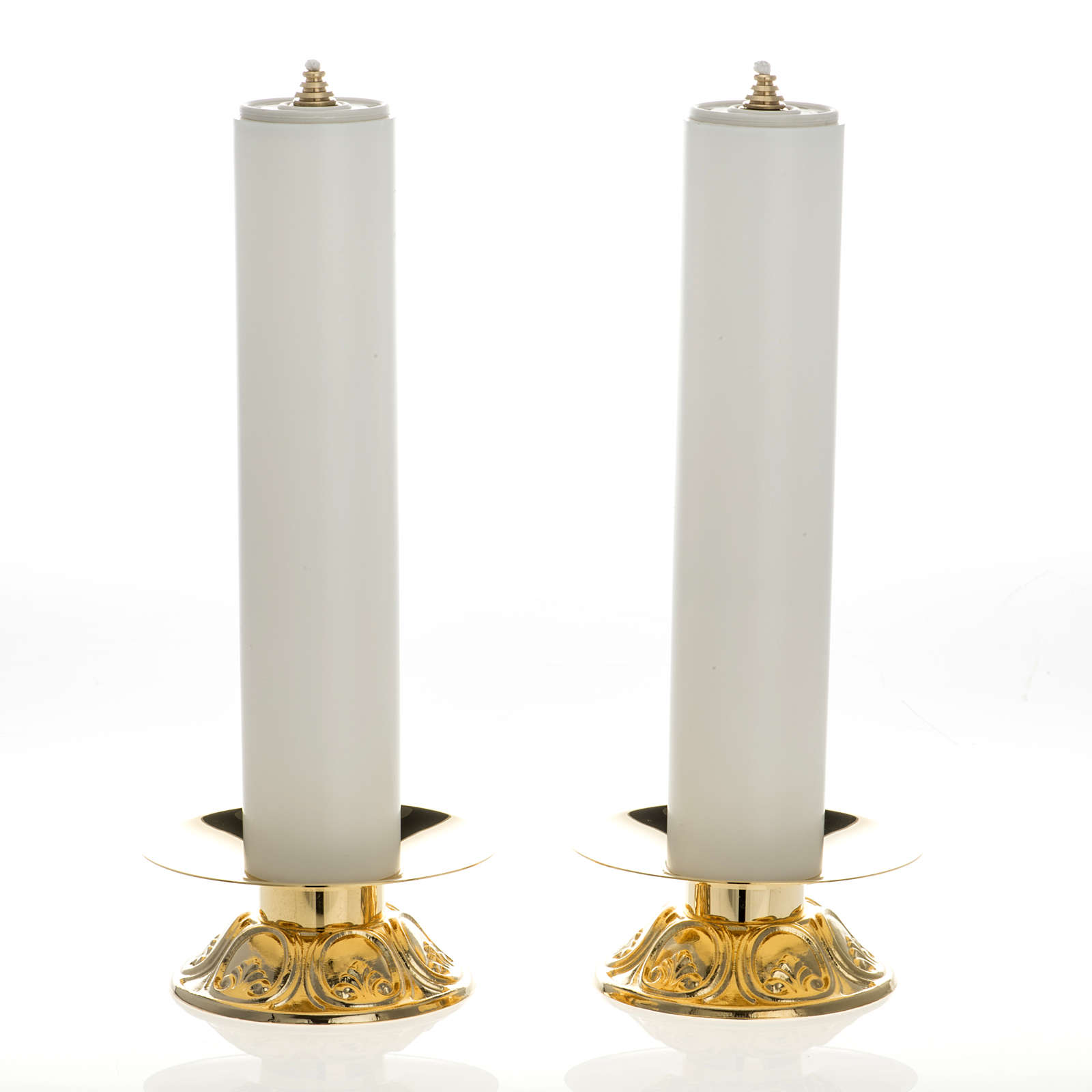 Altar set with candle holders and candles 4