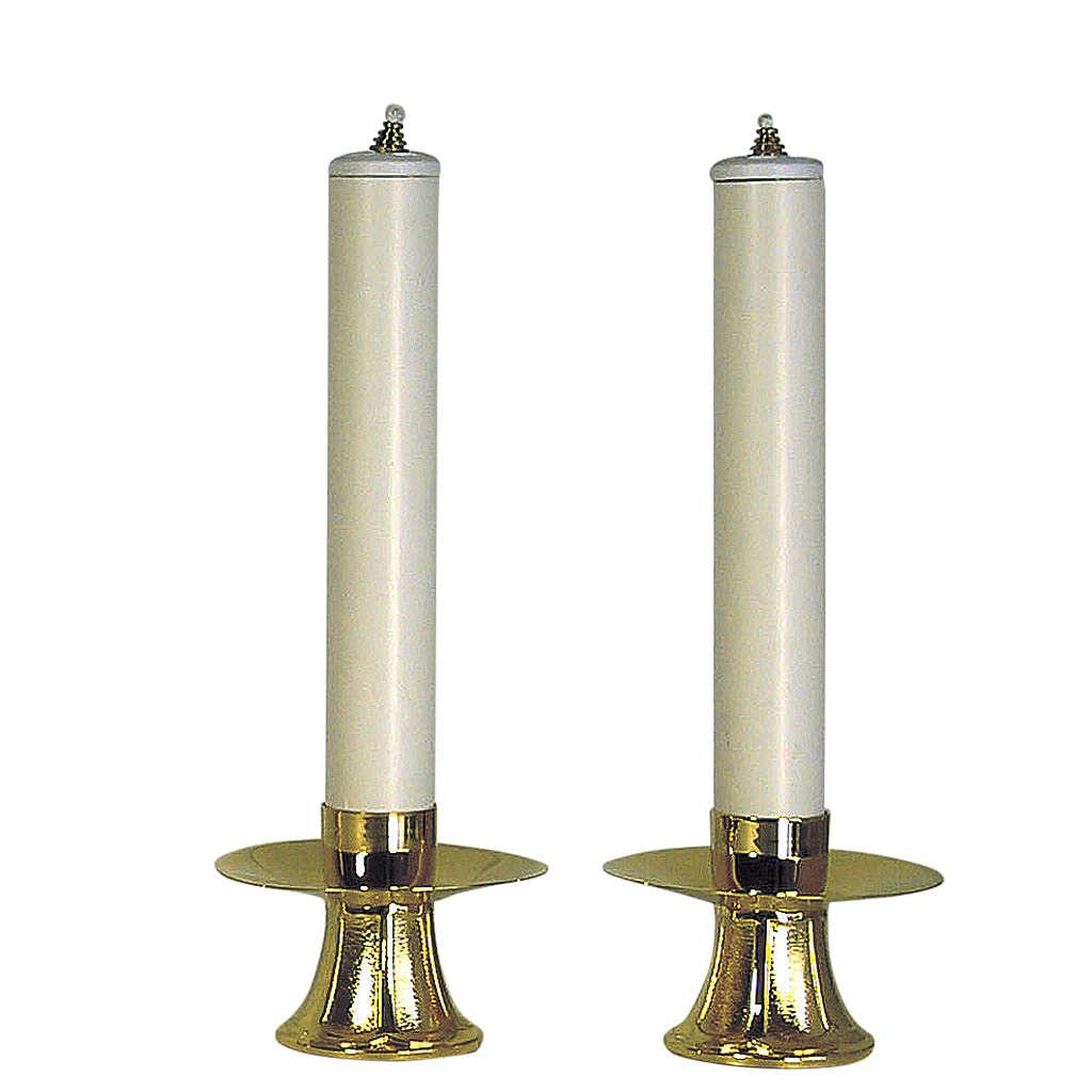 Coppia Candelieri e finte candele 4