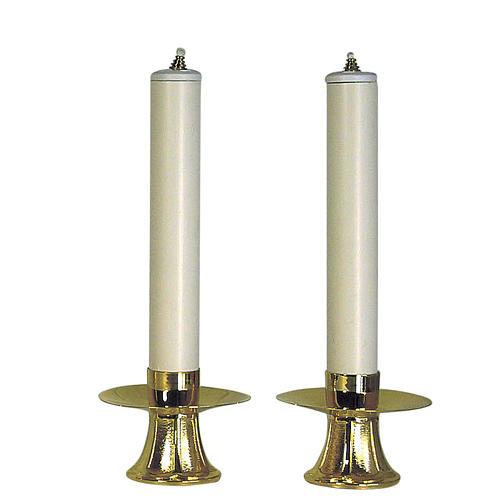Coppia Candelieri e finte candele 1