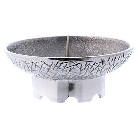 Altar candle holder in brass, Molina s2