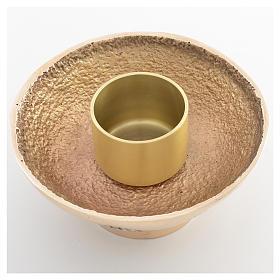 Chandelier à pic Molina bronze moulé s3