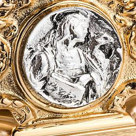 Candeliere ottone fuso quattro evangelisti s2
