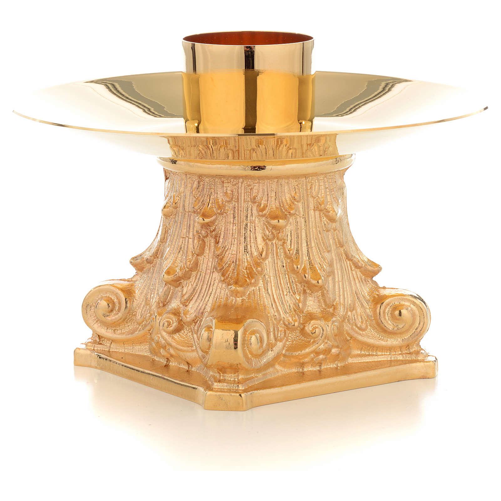 Candeliere con Capitello bossolo 4 cm 4