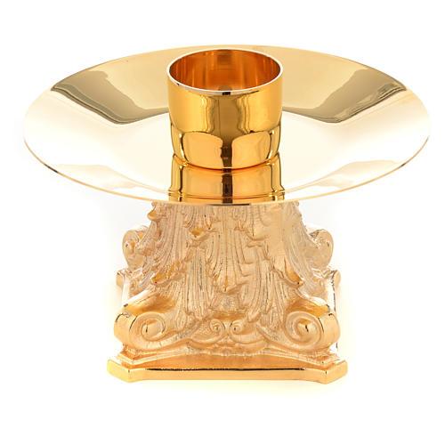 Candeliere con Capitello bossolo 4 cm 1