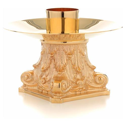 Candeliere con Capitello bossolo 4 cm 2
