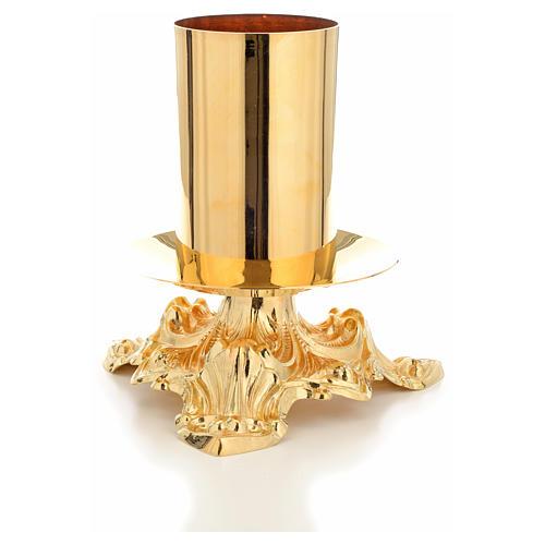 Candeliere altare bossolo 8 cm 4