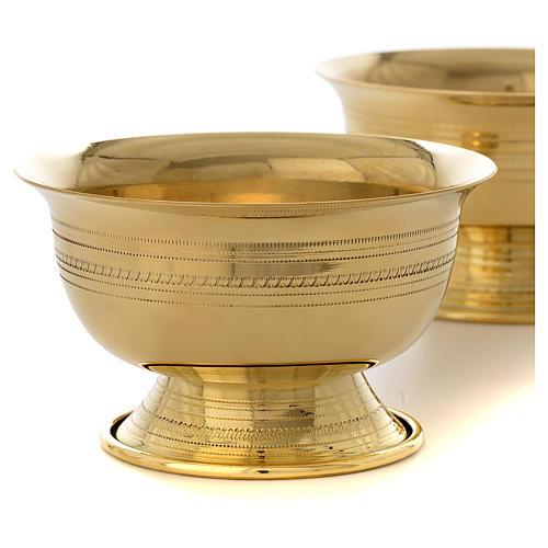 Portacerone da mensa ottone Monaci Betlemme 2