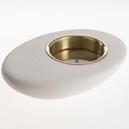 Candeliere argilla refrattaria astrale 6 cm 2