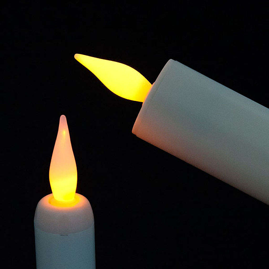 Electric Candle in Plastic 3