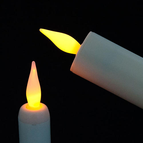 Electric Candle in Plastic 2