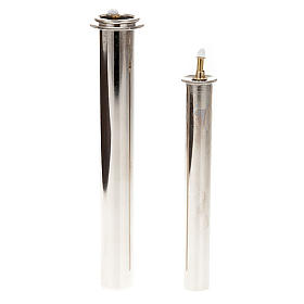 Candles, large candles: Metal liquid wax filter for fake candles