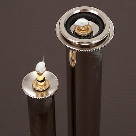 Metal liquid wax filter for fake candles s2