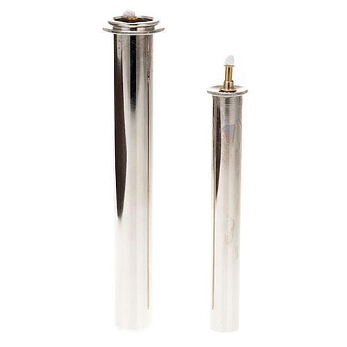 Cartucce cera liquida in metallo per finte candele 1