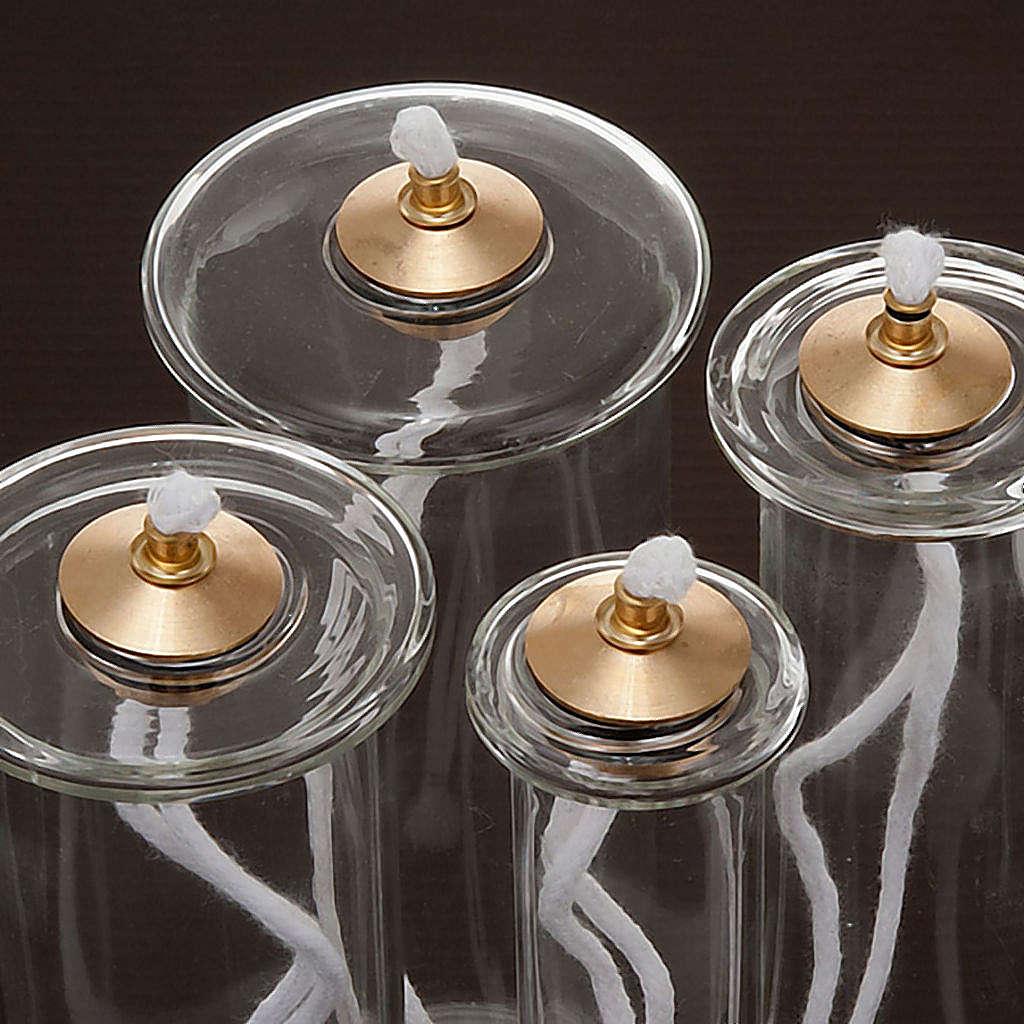 Envases cera líquida para velas de vidrio - varias medida 3