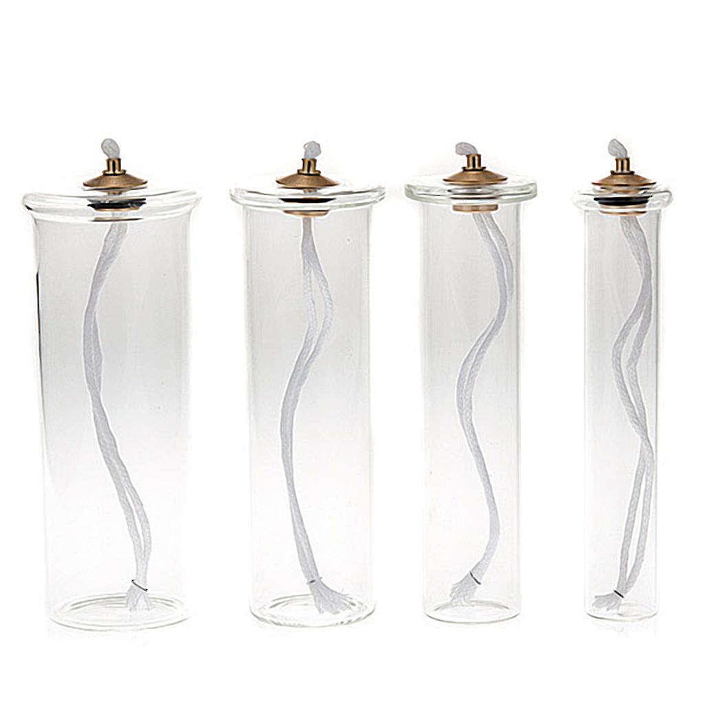 Cartouche en verre pour bougies à cire liquide 3