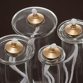 Cartucho cera líquida vidro para velas falsas s3