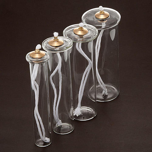 Cartucho cera líquida vidro para velas falsas 2