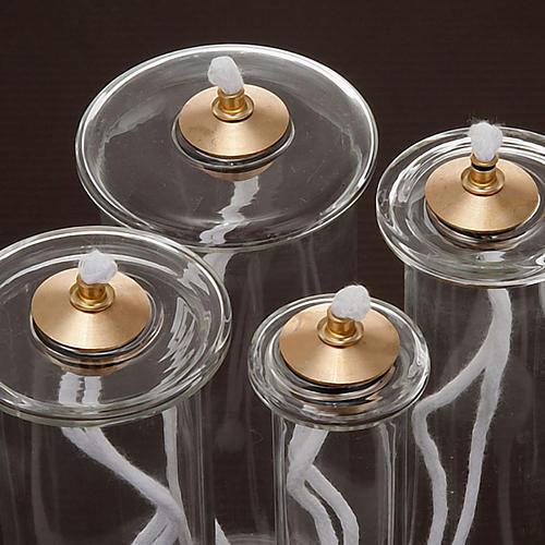 Cartucho cera líquida vidro para velas falsas 3