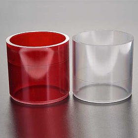 Lamp replacement in plastic, two colours s2
