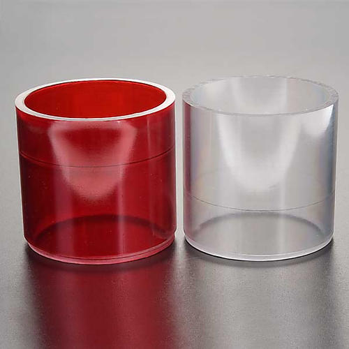 Lamp replacement in plastic, two colours 2