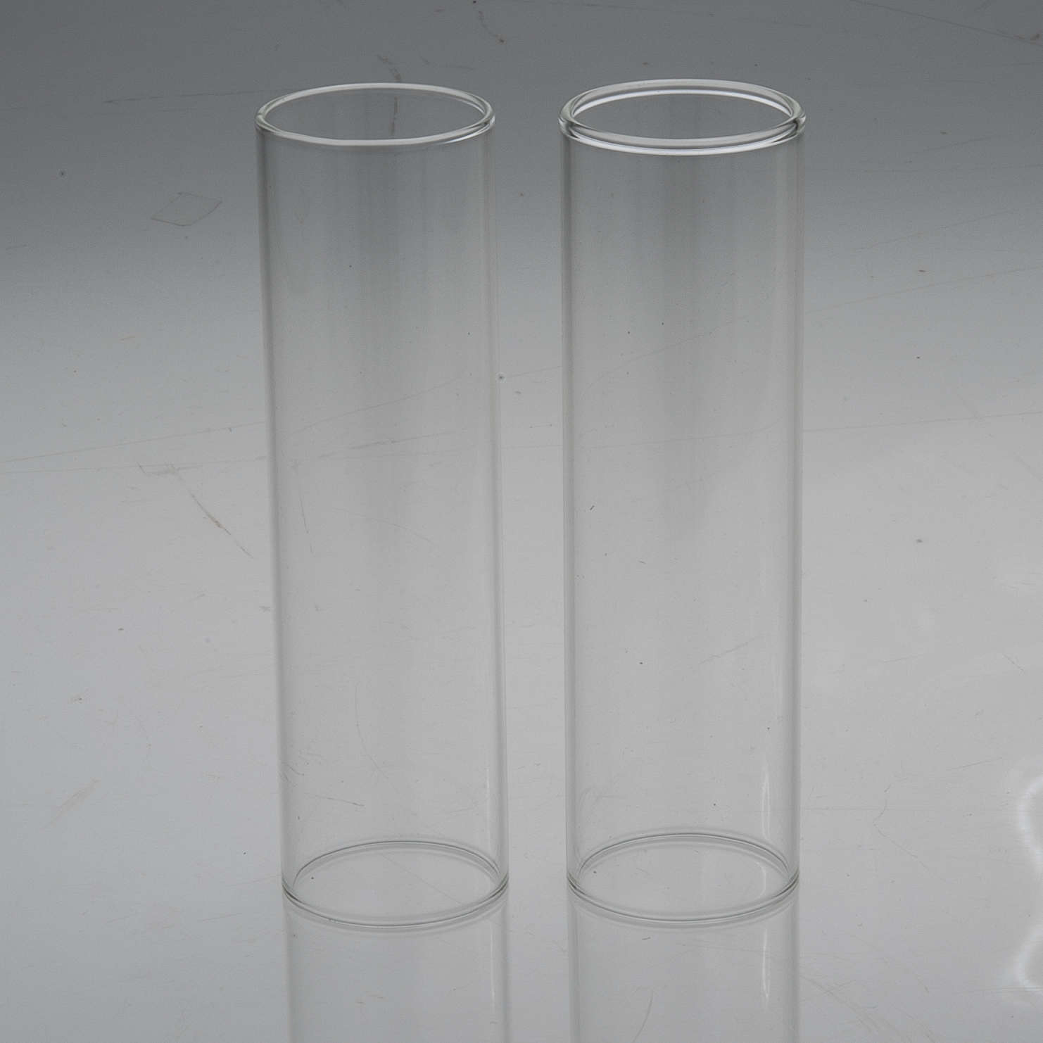 Wind-proof glass for candles, 2 pieces set. 3.5 cm diameter 3