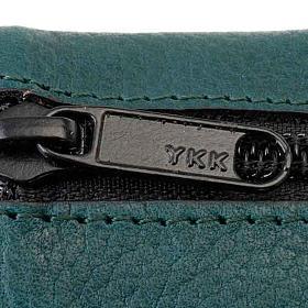 Ledereinband mit Reißverschluß 4 Bände schwarz s2